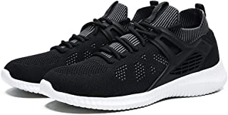 Men's Mesh Breathable Wearable Outdoor Lightweight Sports Soft Soled Running Sports Shoes Trendy Wild Male Sneakers