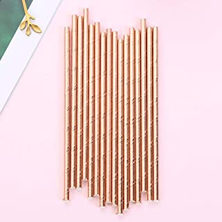 Clearance, 25pcs Disposable Drinking Straws Home Bar Party Cocktail Drink Straw by Little Story