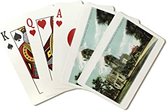St. Augustine, Florida - Memorial Presbyterian Church View (Playing Card Deck - 52 Card Poker Size with Jokers)