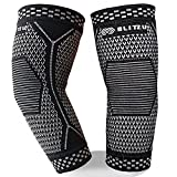 BLITZU Elbow Brace (1 Pair) for Men & Women - Compression Sleeves Support for...