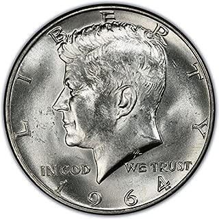 1964 D Kennedy Half Dollar $.50 Brilliant Uncirculated