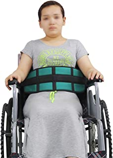 BBDQLY Cinturón perineal con Tirantes, Cinturón de Seguridad para Silla de Ruedas, Correas de