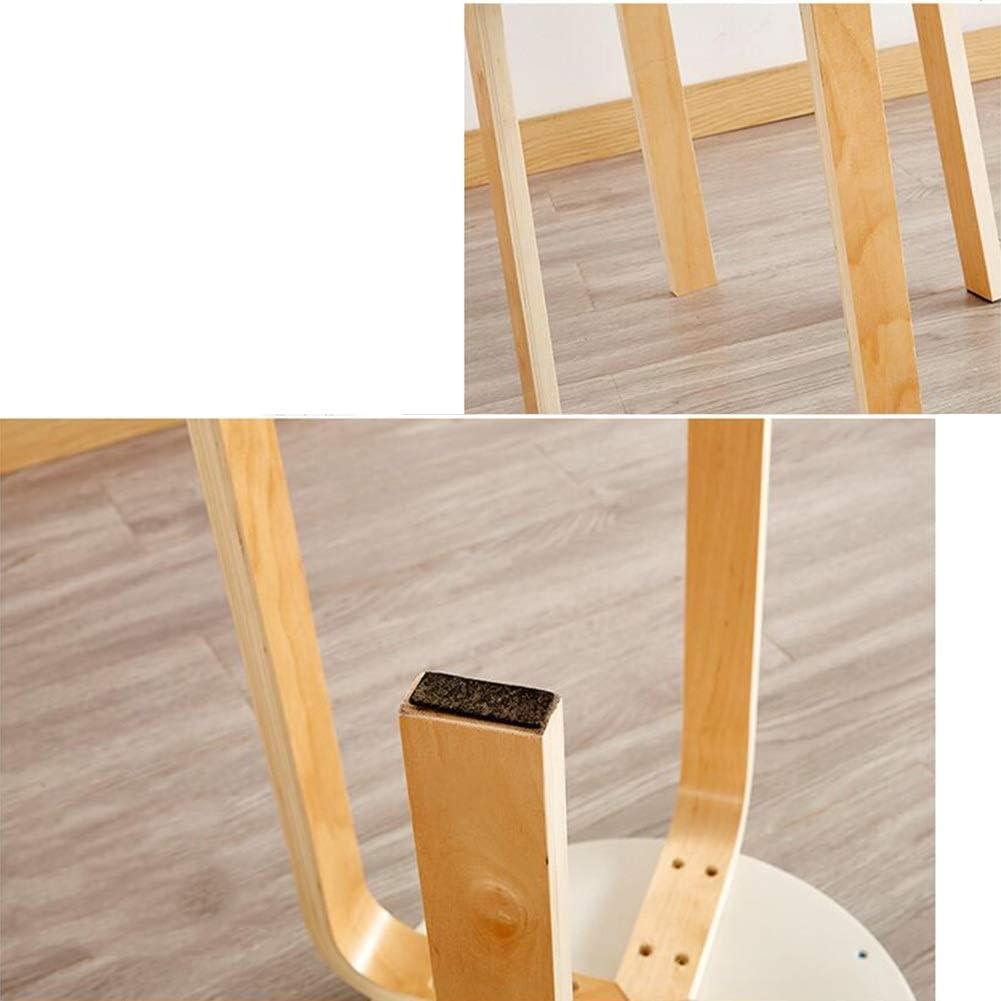 RENJUN Tabouret en Bois Massif à Manger Tabouret empilable Tabouret Peigne 2X32X45cm4 Set Chaise de réunion (Color : T11) T16
