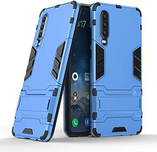 Miagon Kickstand fodral för Huawei P30, cool dubbla lager hård PC baksida fodral med stativfunktion stötsäker helkroppssky...