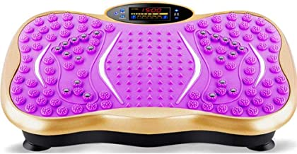 Vibration Fitness Plate with Remote Control and 3D Stereo Music Whole Body Shape Exercise Machine 99 Levels Vibration Shiatsu Massage Workout Gym Trainer for Home Weight Loss kyman Color A Estimated Price : £ 215,11