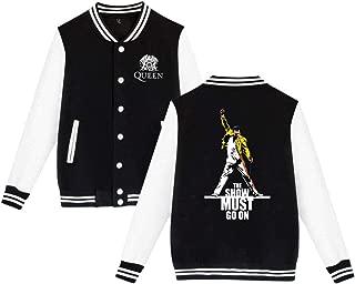 Freddie Mercury Queen-Rock-Band Teen Boys Girls Baseball Jacket Sweater Teenage Boys Girls Sport Top Coat Outerwear