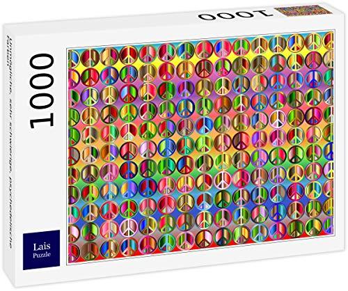 Lais Puzzle Colores psicodélicos imposibles, Muy difíciles. 1000 Piezas