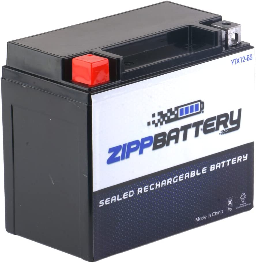 Replacement YTX12-BS iGel Battery Factory Sealed AGM Battery Chrome Pro Battery Rechargeable Motorcycle Battery