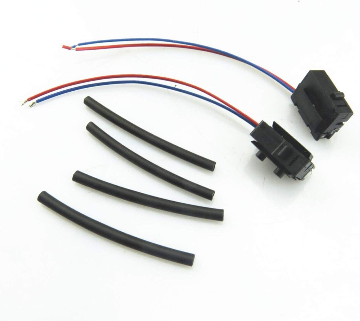 JSJJAET Micro Switch 1Pair 2021 model Door Lock Max 48% OFF Wire Plug Pipe