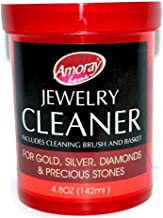 Amoray The Solution Safely Clean All Jewelry Gold Silver & Diamonds Liquid Cleaner Multi