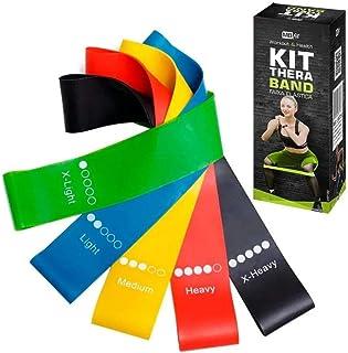 Bandas de loop resistentes a látex sem resistência à pele - As melhores bandas de exercícios de fitness para ginástica em ...