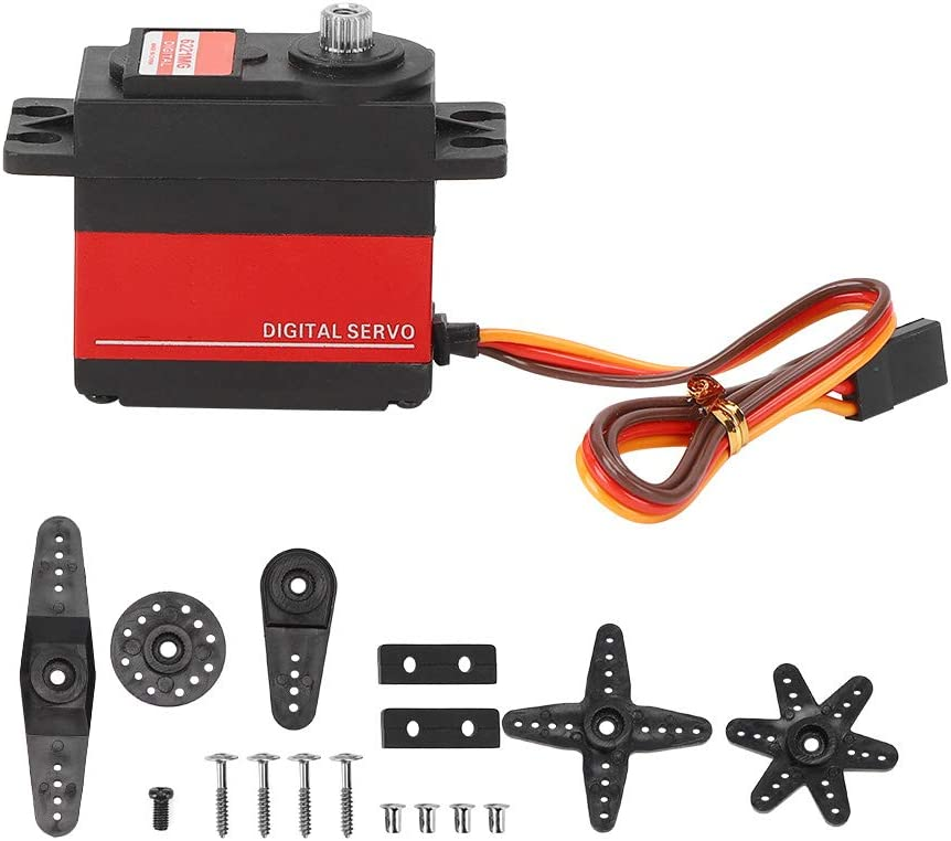 RC Servo 20KG Black Accessory Fort Worth Mall Upgrade In a popularity Replacement Car