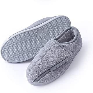 Women Memory Foam Diabetic Slippers Arthritis Edema Adjustable Comfortable House Shoes Closed Toe