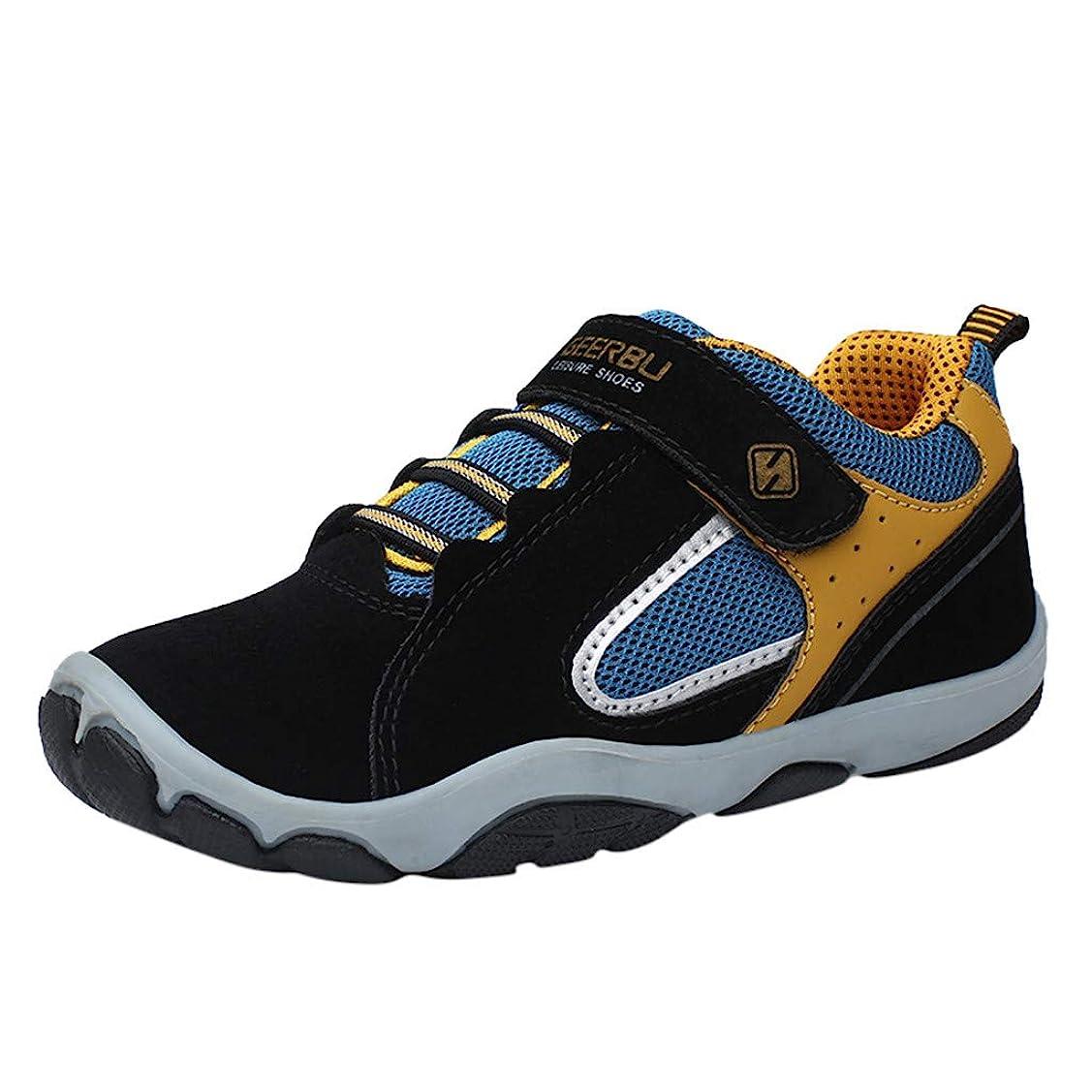試用離れた苗Eldori 幼児の靴 人気 ファッション 可愛い男性と女性の子供のカジュアルシューズ 滑り止め 通気性の大きなカジュアルな屋外 公園遊び 旅行する 子供のスポーツシューズカジュアルシューズ 5.5-17歳