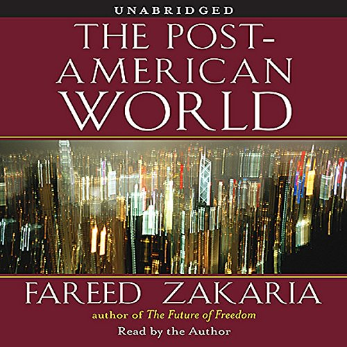 The Post-American World  audiobook cover art