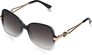 Jessica Simpson Women's J5974 Stylish UV Protective Butterfly Logo Sunglasses   Wear All-Year   The Gift of Glam, 54 mm