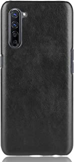 zl one Compatible with/Replacement for OPPO K7 5G PU Leather Case Back Cover (Black)