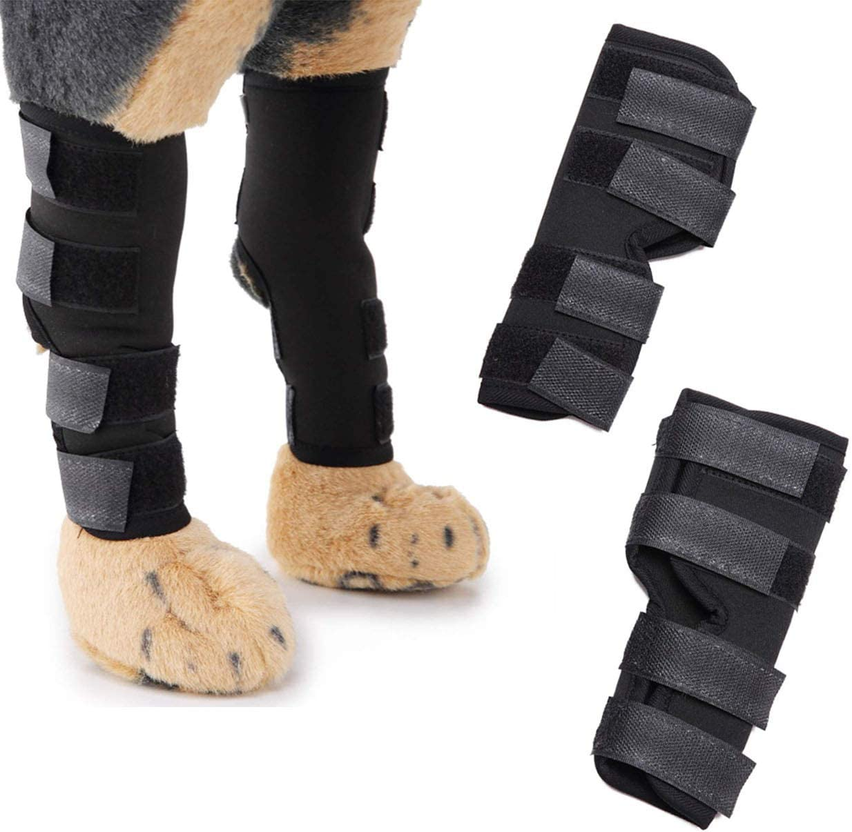 excellence 2 Pcs Dog Knee Brace Rubber Super Back Legs for Special price a limited time Suppo Hip