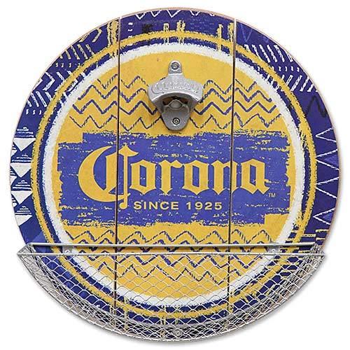 CORONA コロナ キャップキャッチャー付き ウッディー ボトル オープナー 栓抜き アメリカン雑貨