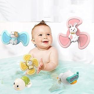 MAIAHU Baby Bath Toys, Bath Toys for Infants 12 Months Kids Bathtub Toys Cute Toddlers 1 2 3 Year Old Boy GirlsClockwork S...