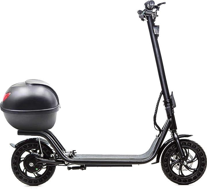 Monopattino elettrico i-bike mono adventure nero taglia unica B08BFZNZS7