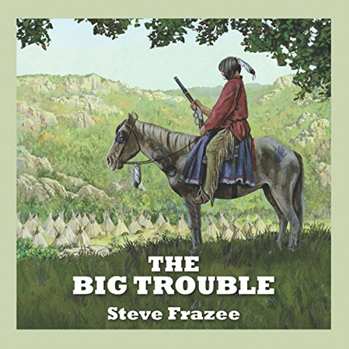 The Big Trouble audiobook cover art