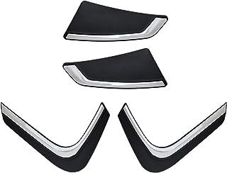 Hi Art Car Custom Fit Bumper Scratch Protectors Compatible with Renault Kwid, Set of 4