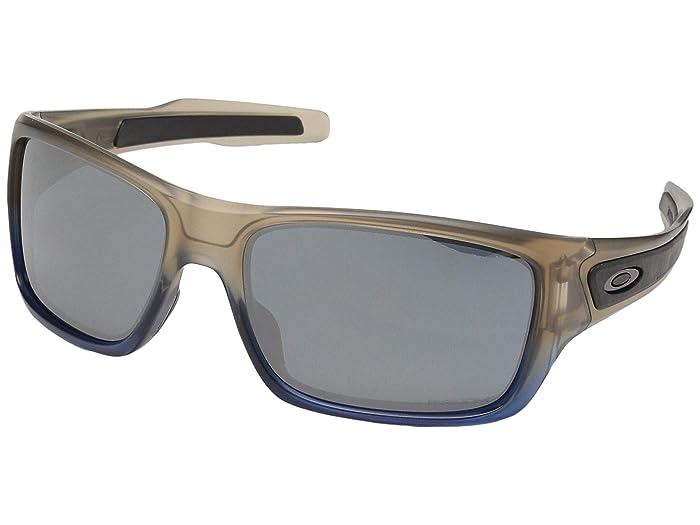 Oakley Turbine (Navy Mist w/ Prizm Black) Sport Sunglasses