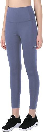 AmDxD Pantalon de sport en nylon Spandex pour femme