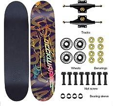 Aon-MX Skateboard Beginnner 31in Longboard Aluminium Truck ILQ-9 Carton Steel Bearing Long Board Skateboard