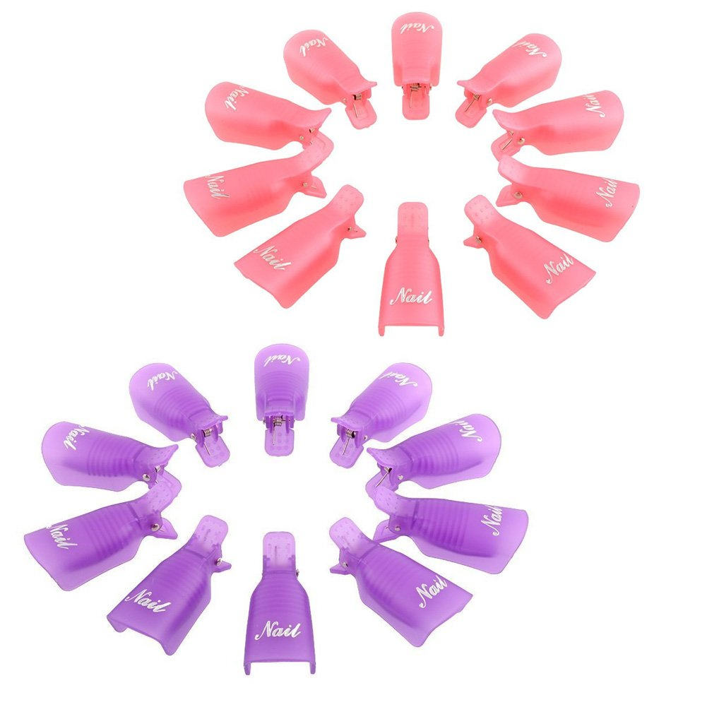 yueton?Pack Animer and price revision of 20 Reusable Nail Art Soak Ranking TOP7 Gel Cap Clip Pol Off UV