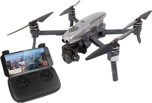 Walkera 15001000Vitus Portable cuadricóptero RTF FPV de dron con 4K UHD de cámara, detección de obstáculos, GPS, Active Track, Devo F8S de Control Remoto, batería y Cargador