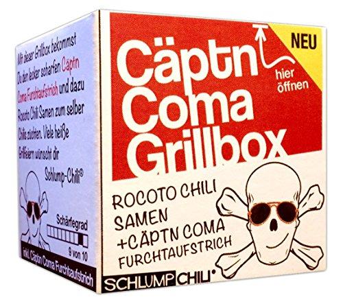 Die Cäptn Coma Grillbox - Das witzige Geschenk für eine Grillparty