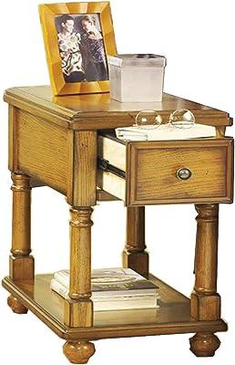 Amazon.com: Steve Silver Company Liberty chairside mesa ...