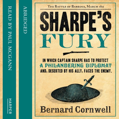 Sharpe's Fury audiobook cover art
