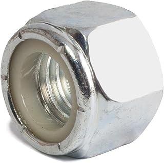 """zinc plaqué Qté 200 Écrou Nyloc UNC type ne 7//16 /"""" 11mm"""