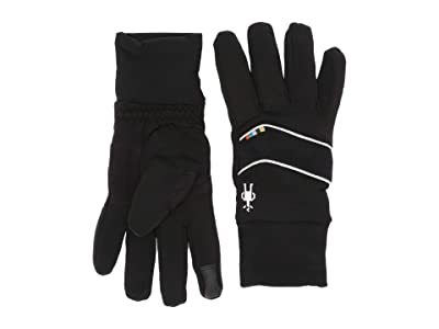 Smartwool Merino Sport Fleece Insulated Training Gloves (Black) Extreme Cold Weather Gloves