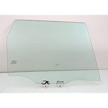 NAGD for 2006-2008 Honda Fit 4 Door Hatchback Passenger//Right Side Rear Door Window Replacement Glass