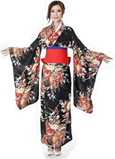 CRB Fashion Kimono Japanese Women's Traditional Style Robe Yukata Costumes
