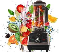 ESRW Maker Smoothie Blender, 1650W 2L Haute Vitesse Cuisine Blender sans BPA Tritan Pitcher 6 Titane Lames en Acier Inoxyd...