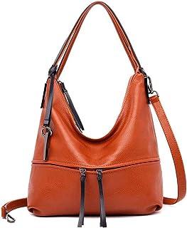 Fanspack Womens Tote Bag Shoulder Bag All Match Simple Large Capacity Crossbody Handbag