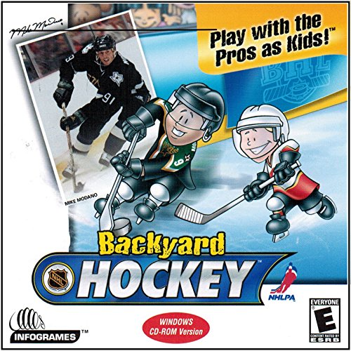 Humongous Entertainment - Backyard Hockey