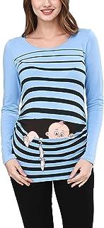 Fuga de bebé - Camiseta premamá Sudadera con Estampado