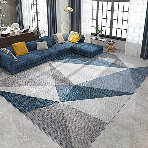 Kunsen La Alfombra Regional Alfombra Alfombra Antideslizante Moderna con patrón de triángulo...