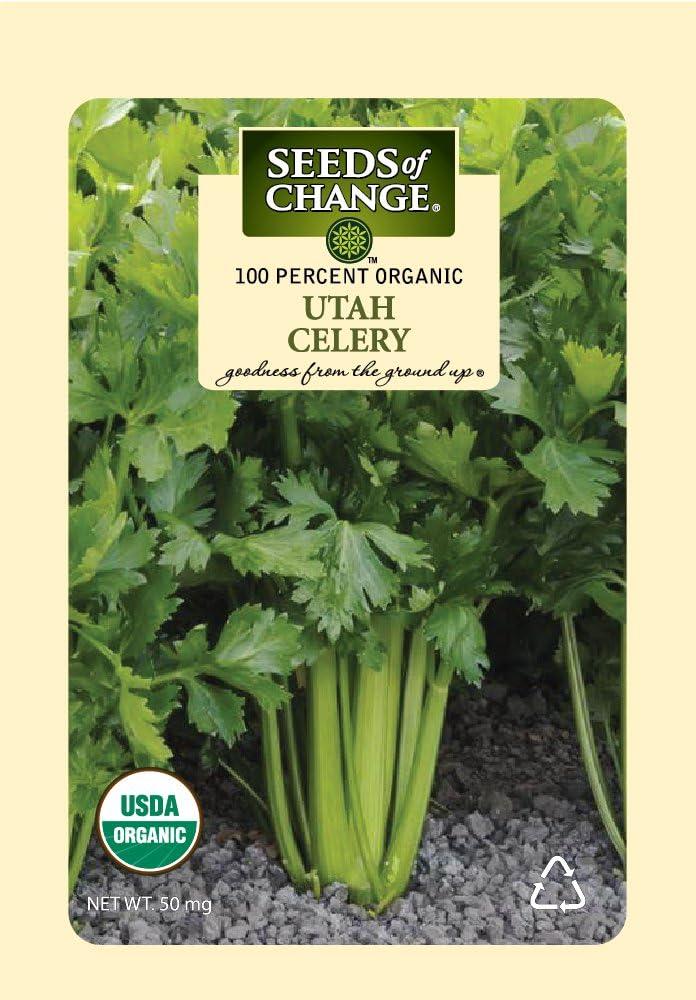 Seeds Of Change 8176 Certified Organic Utah Celery