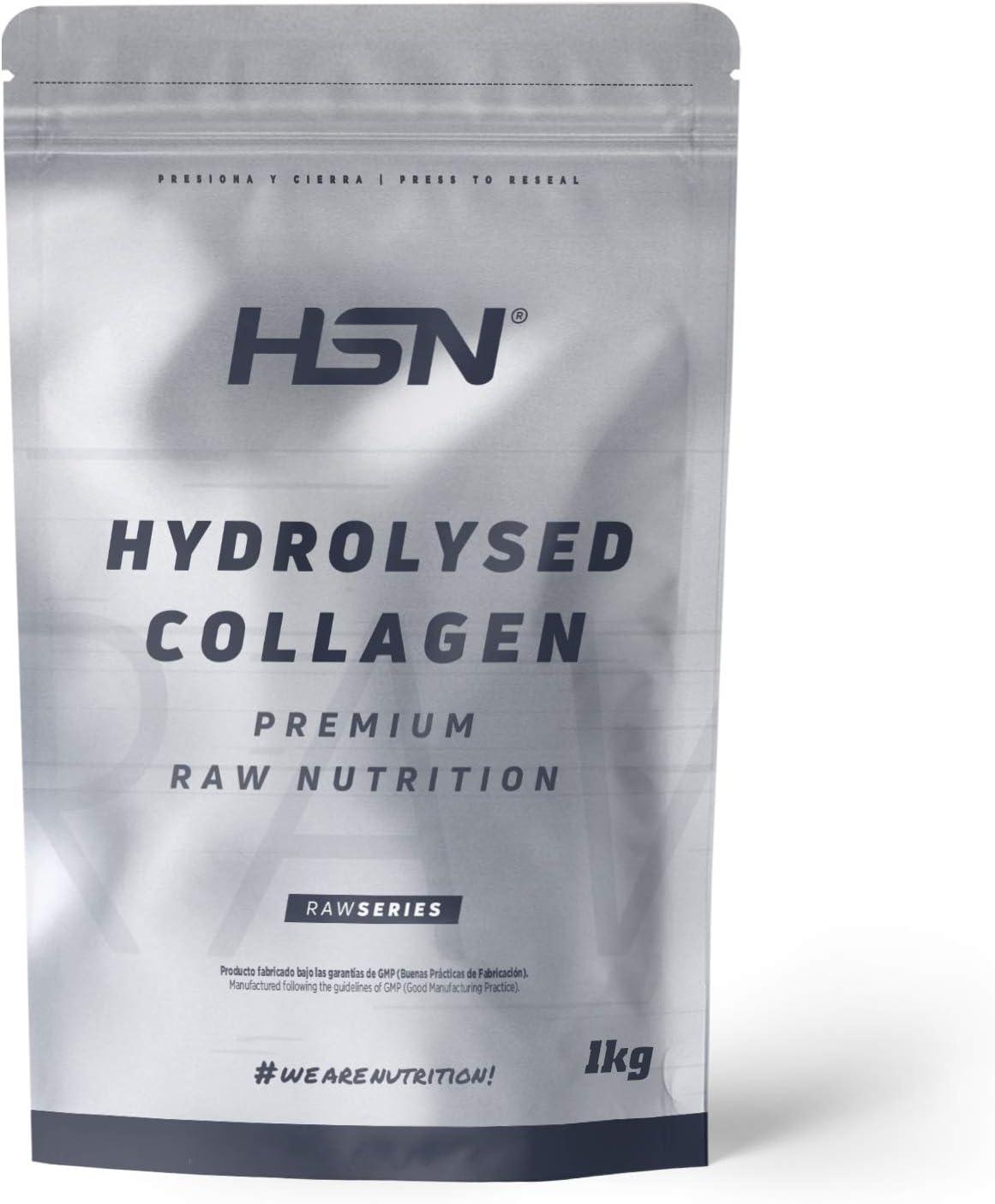 Colágeno Hidrolizado de HSN | Origen Bovino | Cuidado y Mantenimiento de las Articulaciones, Huesos Fuertes, Salud de Piel, Cabello y Uñas | Sin ...