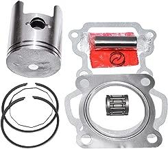 Piston 50mm + 0.75mm Rings Gasket Kit For Suzuki AX100 2-Stroke Engine AX 100cc