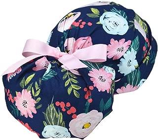 women's ponytail scrub hat