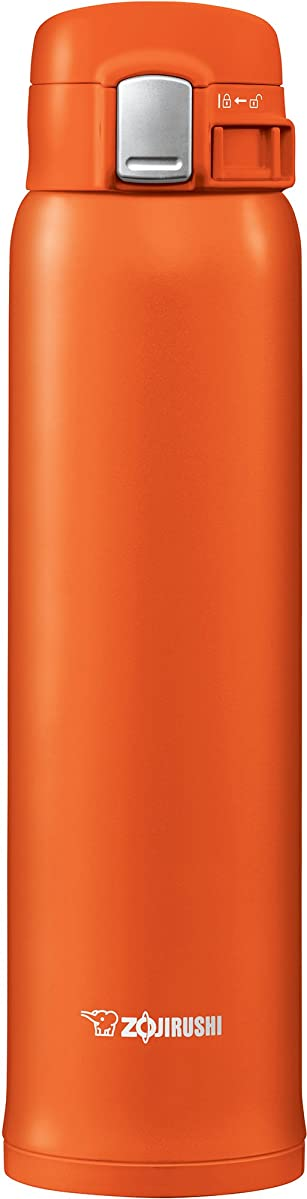 Zojirushi SM-SHE60DV Stainless Steel Mug, 20 ounce, Vivid Orange