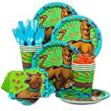Costume SuperCenter Scooby Doo Birthday Party Standard Tableware Kit...